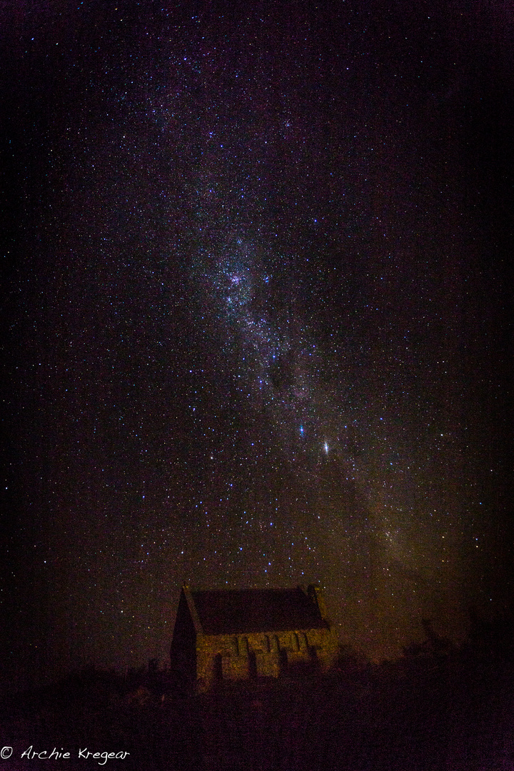 Southern Cross and Milky Way