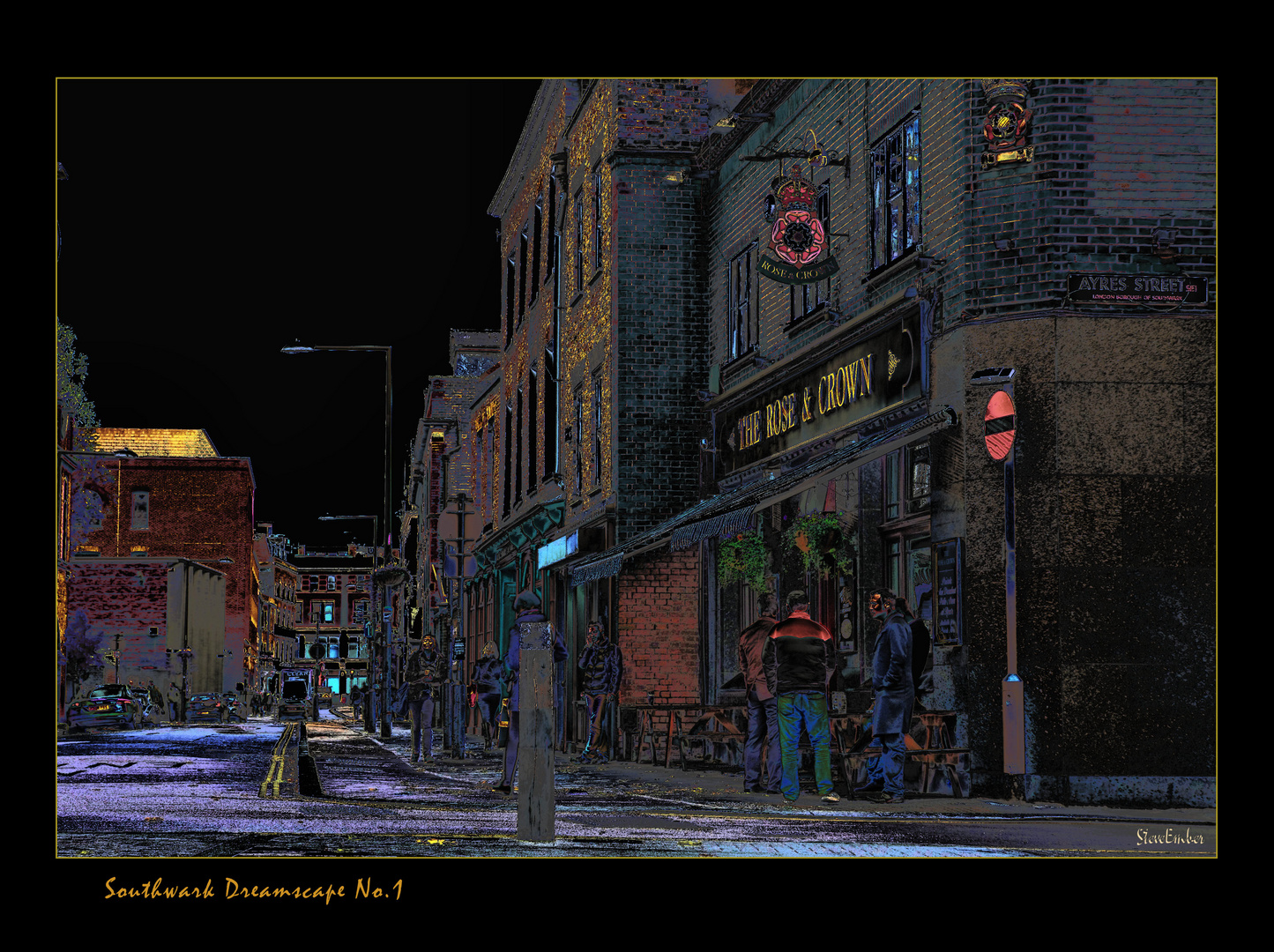 Southwark Dreamscape No.1 - The Rose & Crown