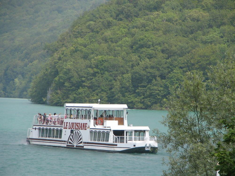 souvenir du lac du Vouglan(dans le Jura)