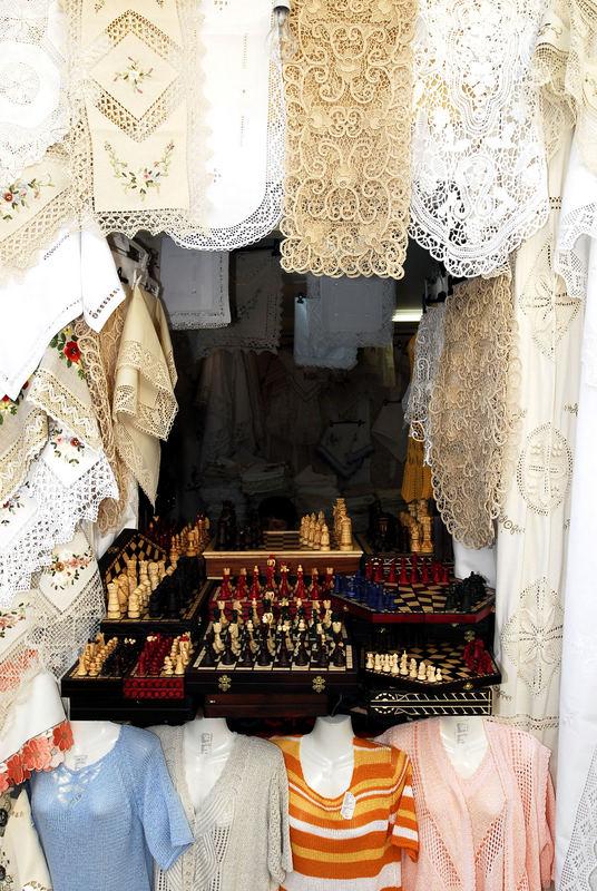 Souvenir-Shop in Porec