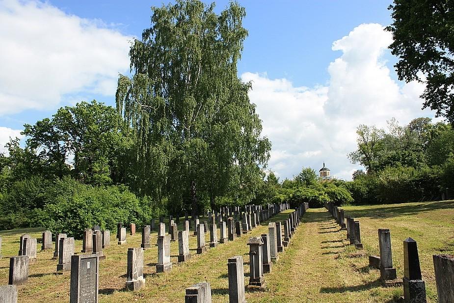 Sowjetischer Friedhof bei Belvedere in Weimar