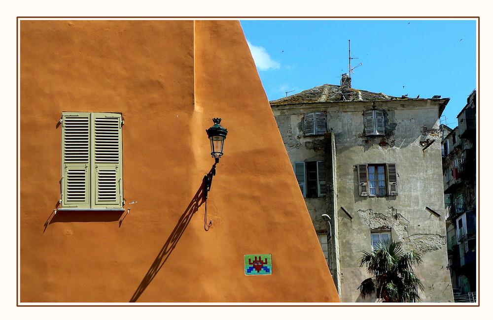 Space invader à Bastia