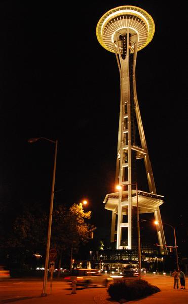 Space Needle-Seattle, Washington