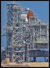 Space Shuttle Endeavour wartet auf seine letzte Mission