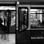 Spät abends in der S-Bahn - oder - der skeptische Blick