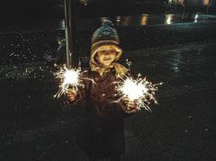 Späte Neujahrswünsche.