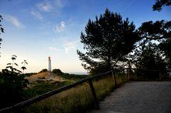 Später Abend am Leuchtturm