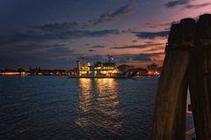 Später Abend in Venedig