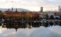 Spätherbst am Rhein