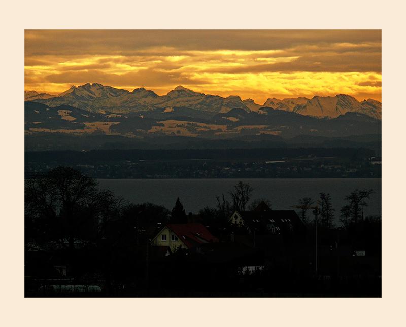 Spätnachmittag am Bodensee