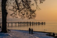 Spätnachmittags am Chiemsee
