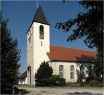 Spätromanische Kirche in Westeregeln