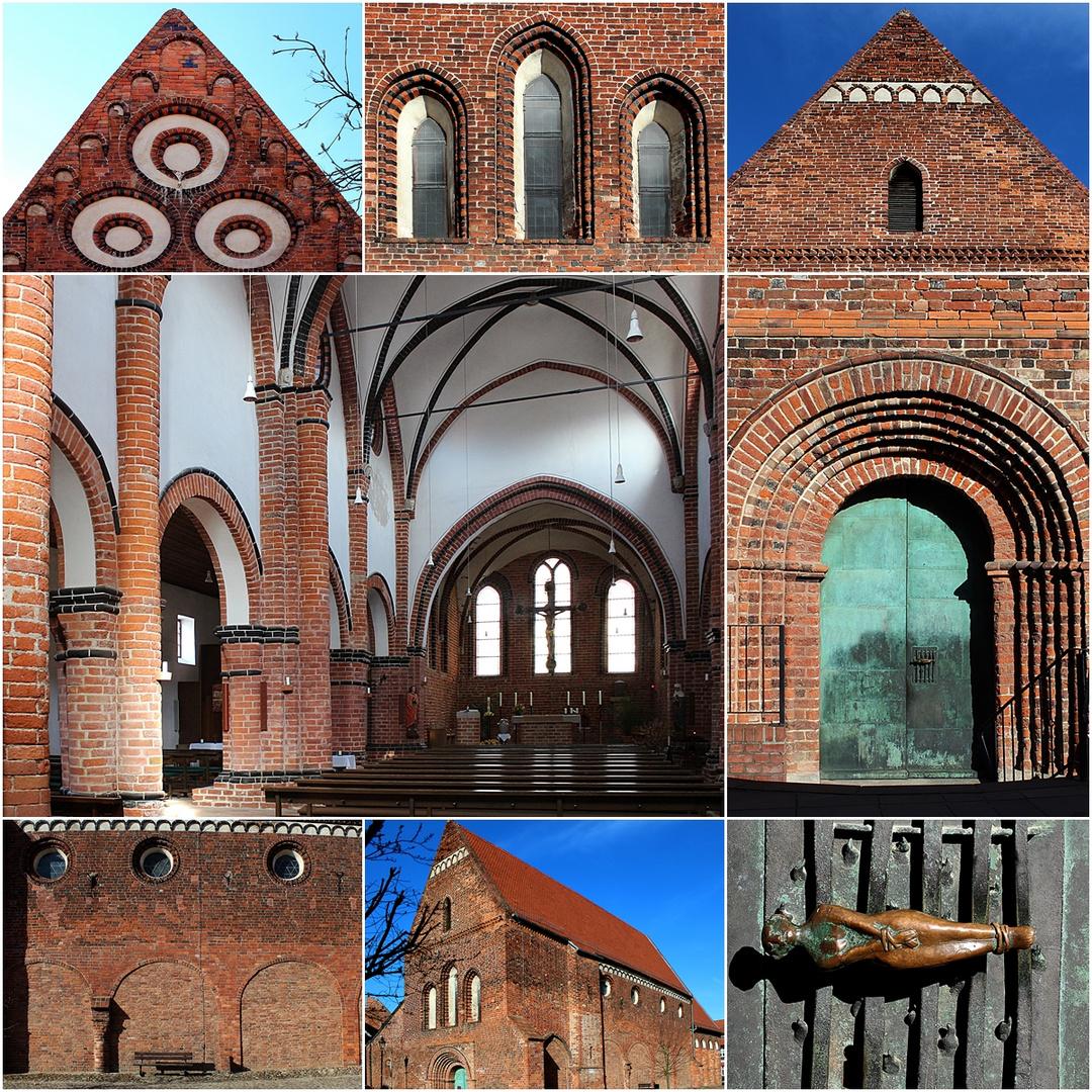 Spätromanische Lorenzkirche in Salzwedel
