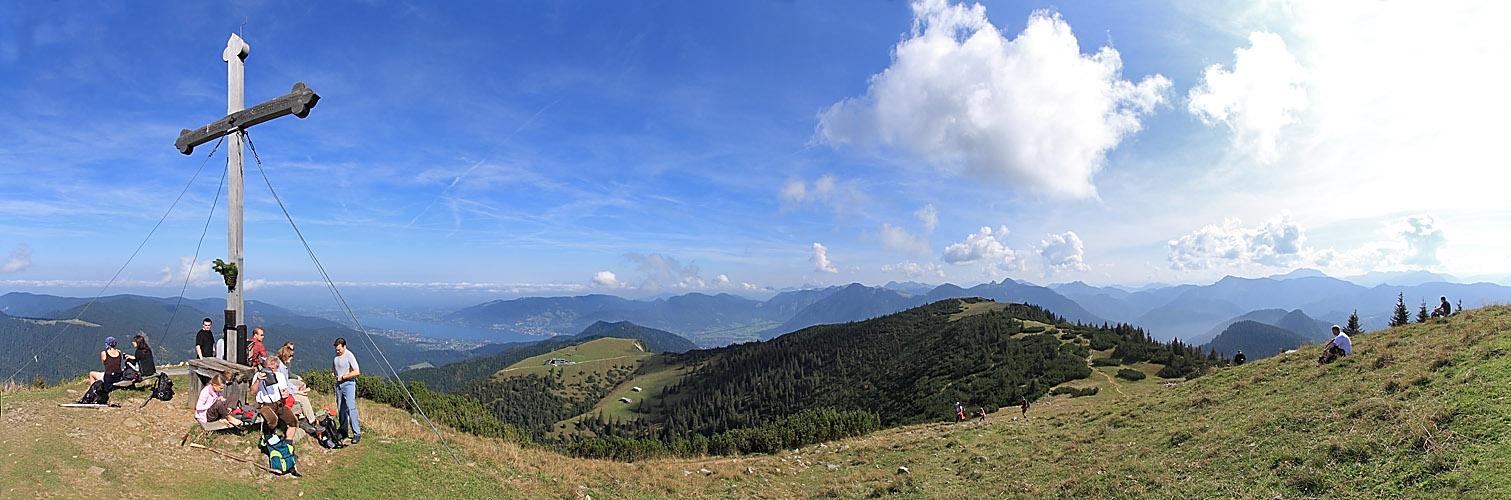 Spätsommer auf dem Hirschberg (Bayern)