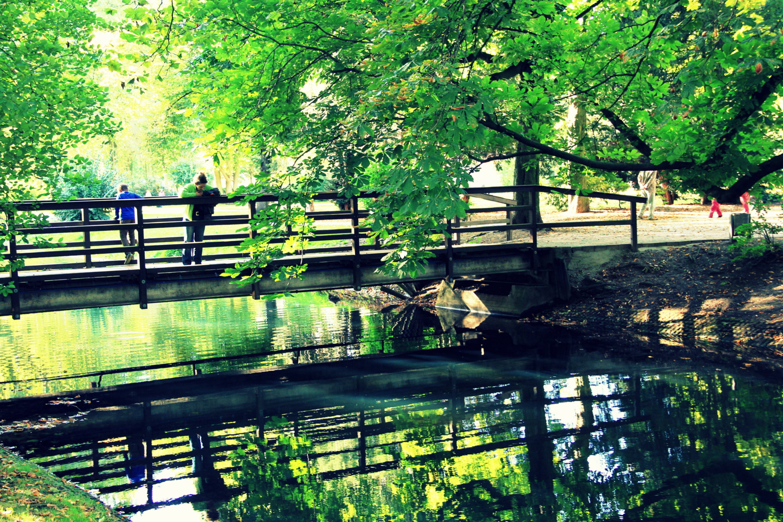Spätsommer im Park