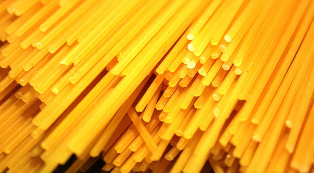 Spaghettata? Materia prima
