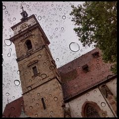 Spandau im Regen