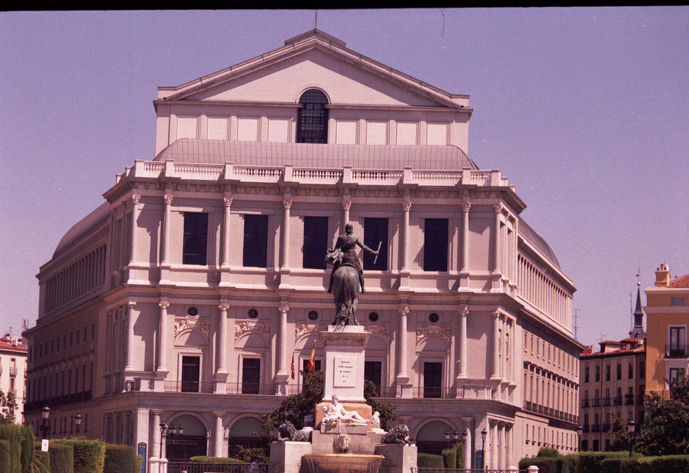 Spanian Royal theatre