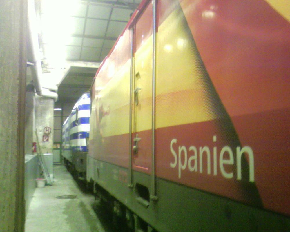 Spanien und Griechenland