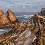 Spaniens wilde Küste