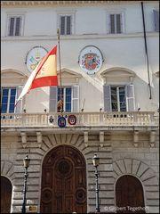 Spanische Botschaft Piazza di Spagna im Stadtviertel Campo Marzio