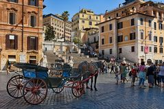 Spanische Treppe Rom  - liebevoll 'Scalinata di Trinita dei Monti'