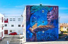 Spanisches Graffiti