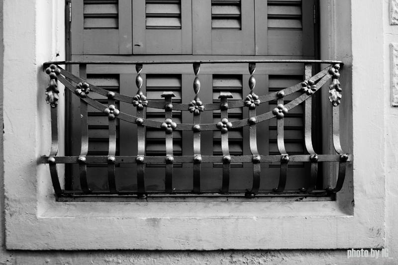 spanish balcony detail