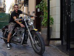 spanish Biker...