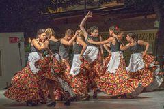 Spanish dance group