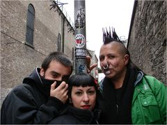 Spanish punks in Dublin