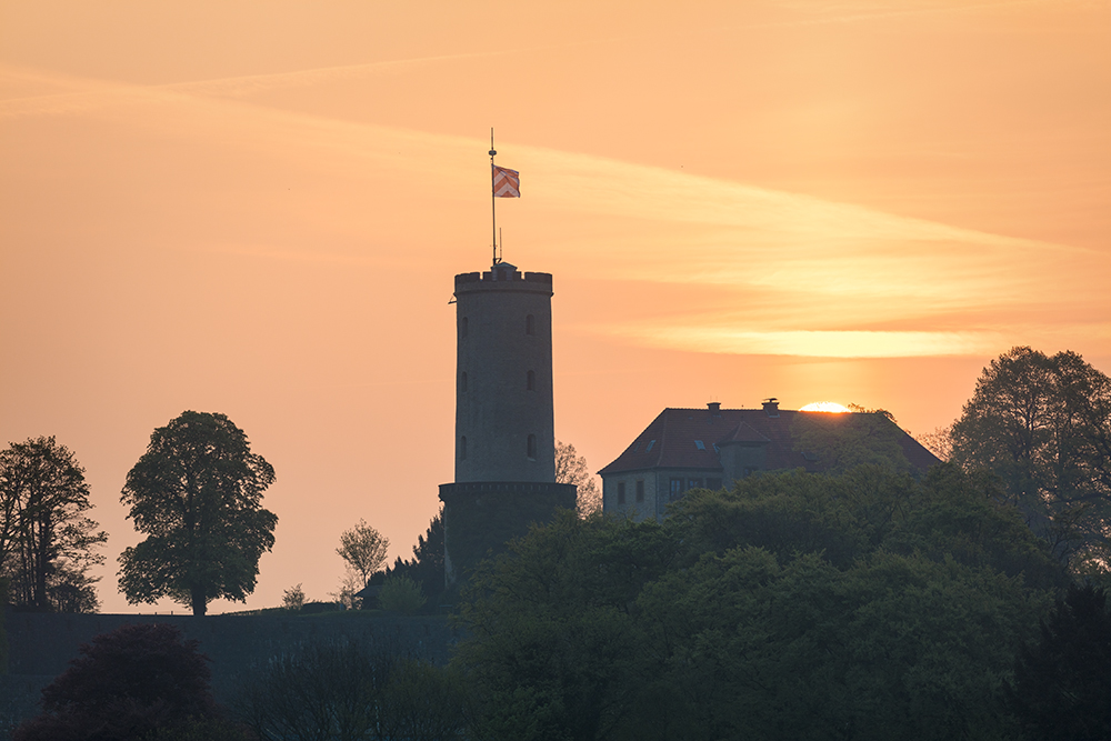 Sparrenburg Silhouette ...