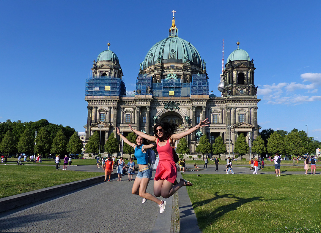 Spaß am Berliner Dom