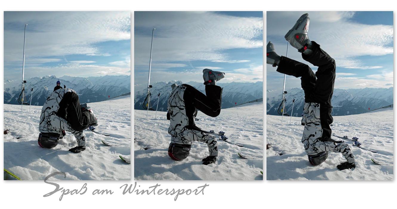 Spaß am Wintersport