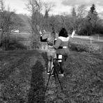 Spaß beim Shooting - Schwarzweißer Freitag 26.2.21