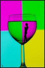 Spaß im Glas