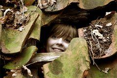 Spass im Wald
