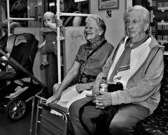 Spaß in der U-Bahn