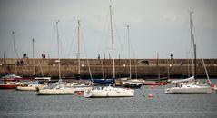 Spazieren am Hafen