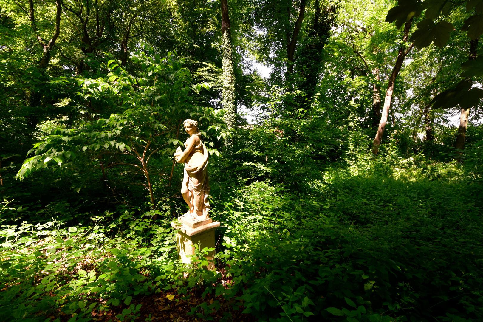 Spazieren im Schlosspark VII