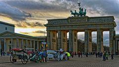 Spaziergang am Brandenburger Tor