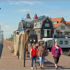 Spaziergang am Urker Hafen