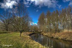 Spaziergang an der Oker bei Braunschweig