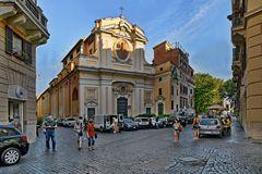 Spaziergang durch die Gassen von Rom