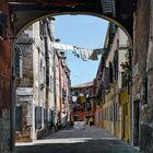 Spaziergang durch die Gassen von Venedig
