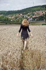 Spaziergang durchs Feld