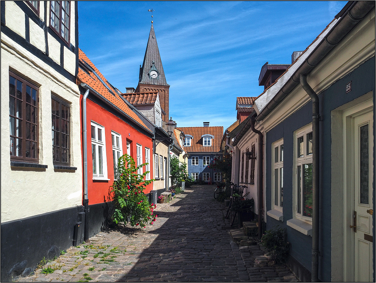Spaziergang in Aalborg