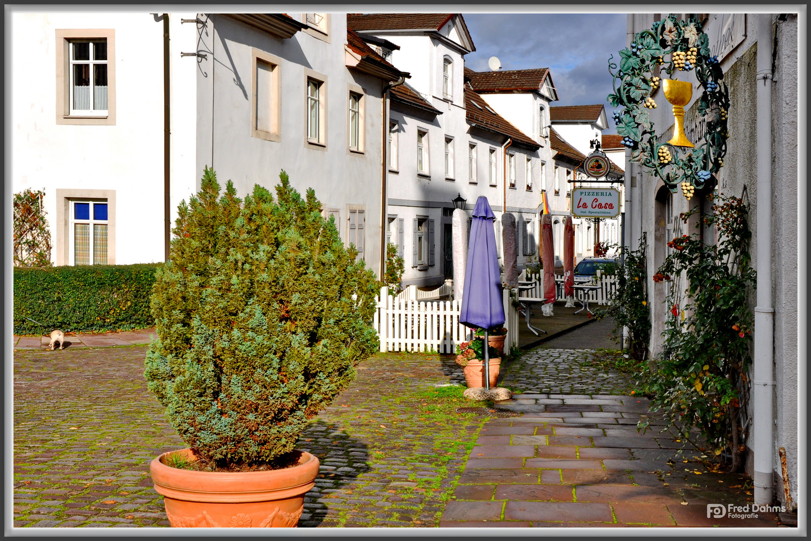 Spaziergang in Bad Karlshafen
