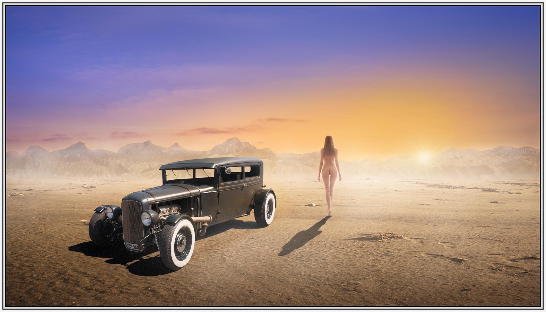 Spaziergang in der Wüste