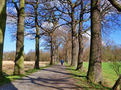 Spaziergang in Gelsenkirchen am Wasserschloss Lüttinghof